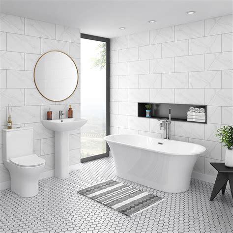alps modern  standing bathroom suite victorian