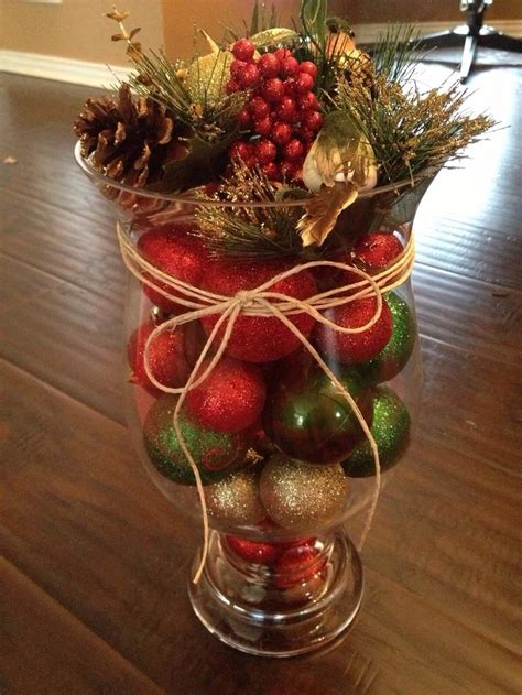 1000 ideas about christmas vases on pinterest christmas