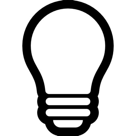 Light Bulb Outline Png by Light Bulb Outline Free Tools And Utensils Icons