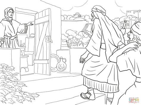 New Room Built For Elisha Coloring Page Free Printable Elisha Coloring Page
