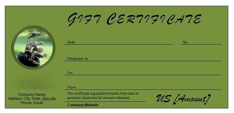 golf gift card template printable golf gift certificate journalingsage
