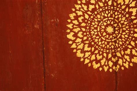 Muster Goä Rechnung Foto Muster Im Tempel Thailand Bangkok Geo Reisecommunity