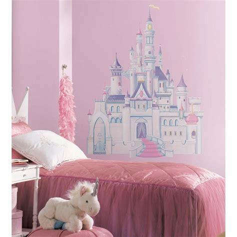 Disney Princess Bedroom Stickers by Disney Princess Castle Wall Mural Stickers Vinyl