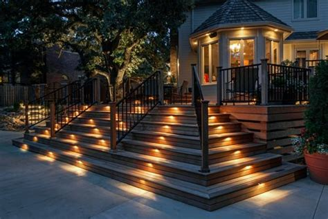 light and landscape deck lighting ideas landscaping network