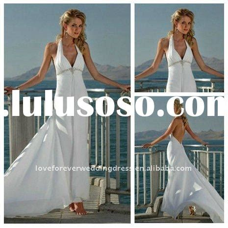 Discount Summer Wedding Dresses by White Chiffon Wedding Dresses White Chiffon Wedding