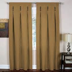 Tab Top Button Curtains Buy Button Top Curtains From Bed Bath Beyond