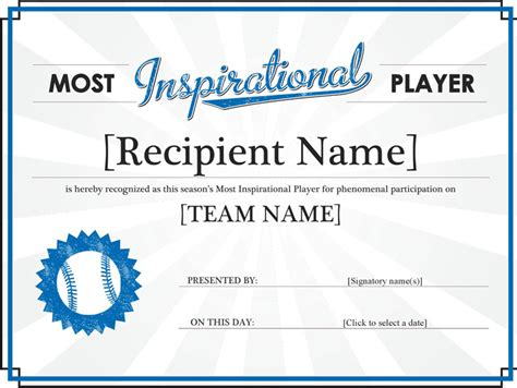 sports certificates download free premium templates