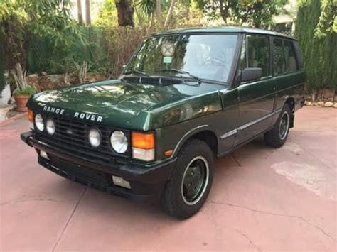 old car repair manuals 1991 land rover range rover navigation system 1991 range rover classic 2 door 3 9 v8 youtube
