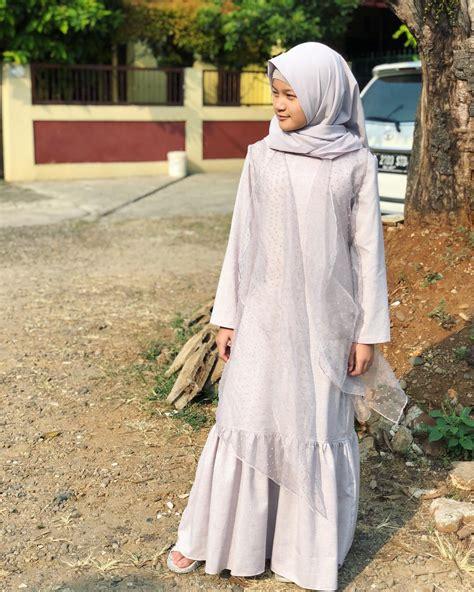 Celana Kulot Dini 5 gaya modis anak arie untung dan fenita arie berhijab di