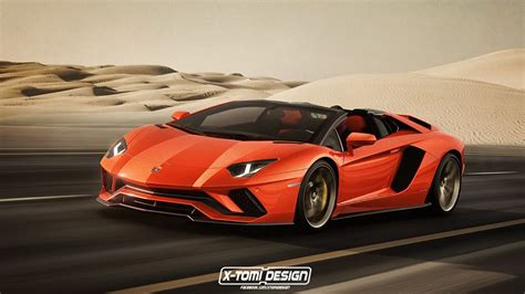 lamborghini aventador s roadster official video 2018 lamborghini aventador s roadster rendered as the supercar we need right now autoevolution