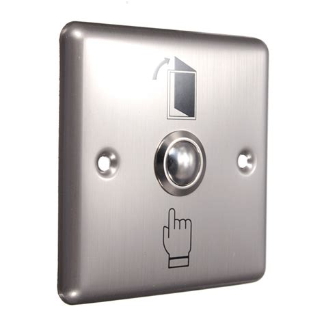 Exit Switch For Access Stainless stainless steel door access panel exit push release button