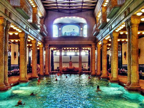 bagni termali a budapest prices in gellert spa