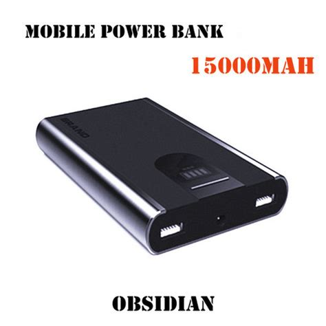 Power Bank Cell Vippo mobile power bank obsidian mobile power bank for iphone cell phone 15000mah