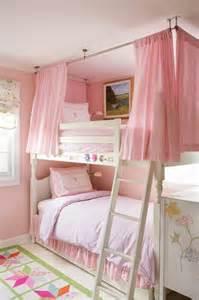 Twin Canopy Beds For Girls by 画像 子供部屋の定番 二段ベッド のおしゃれなアレンジ特集 Naver まとめ