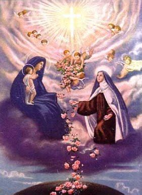 Shower Of Roses by Prayers To St Therese And Shower Of Roses