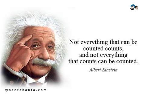everything counts not everything that can be counted counts and not