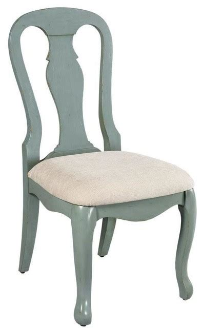 sheffield side chair antique blue modern dining