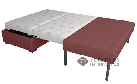 size sleeper ottoman customize and personalize somerset ottoman sleeper fabric