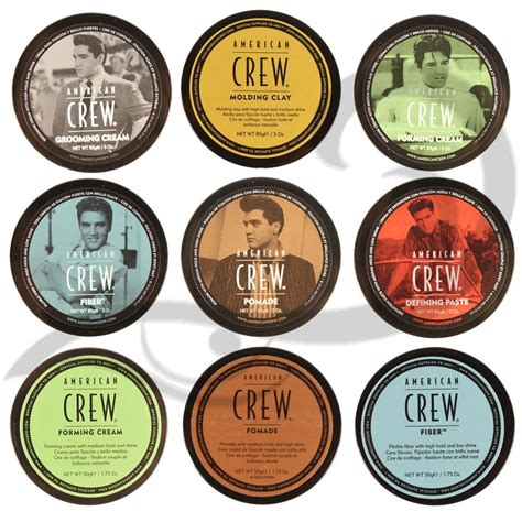 Pomade Wax american crew s hair styling products all types