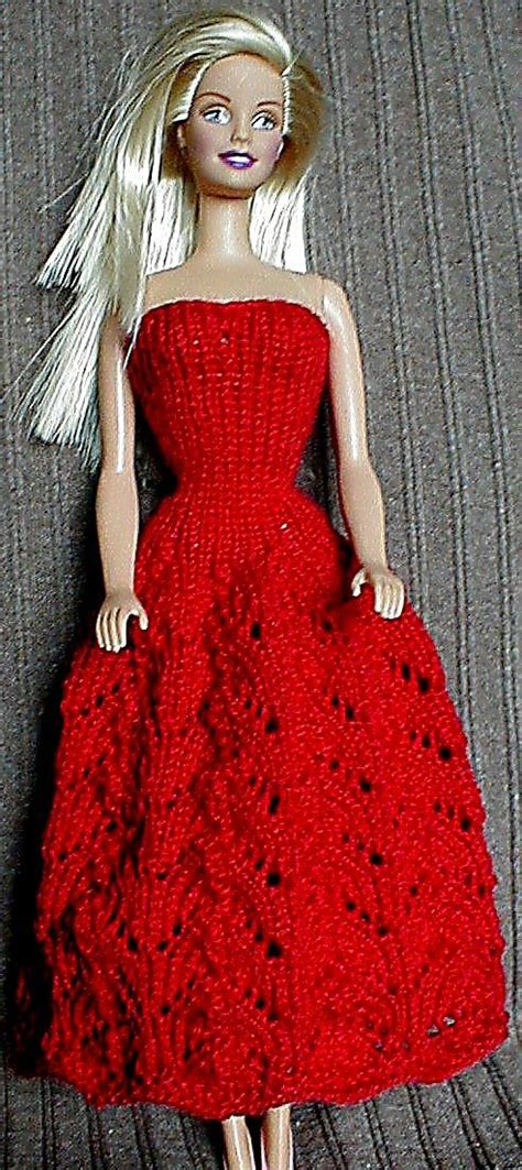 knitting pattern barbie clothes barbie dress 05 barbie knitting makes pinterest