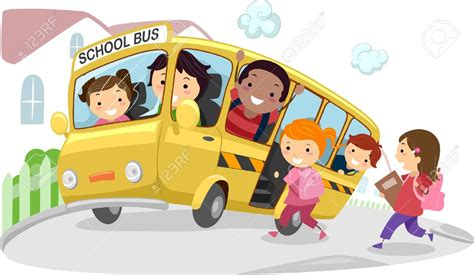 School Bus Clipart For Kids Clipartxtras