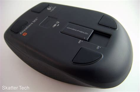 Logitech Anywhere Mouse Mx document moved
