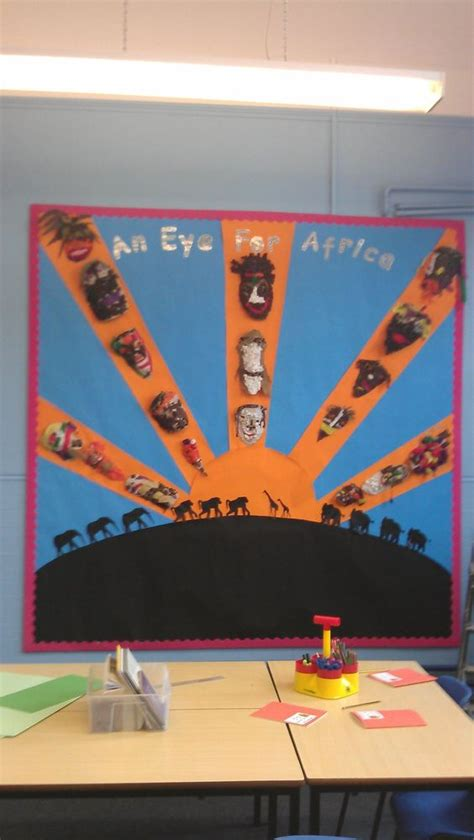 flags of the world early years africa display classroom display class display africa