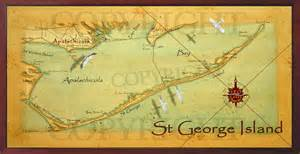st george island florida map field studio st george island and apalachicola bay