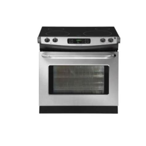 drop in stove frigidaire 30 quot self clean drop in electric range stove