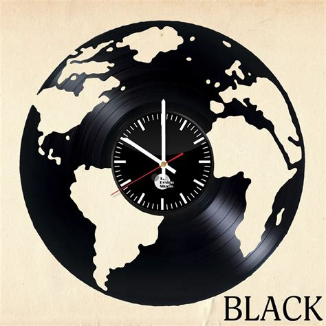 unusual wall clocks globe vinyl record unique wall clock vinyl clocks