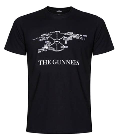 T Shirt Arsenal The Gunners sportskeeda arsenal the gunners t shirt buy sportskeeda