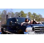 Street Wars 7 Diesel Truck Smoke Stacks Girl On Hood