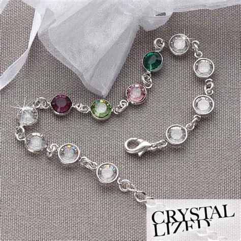 5341D   Birthstone Link Personalized Bracelet