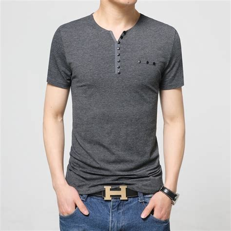 T Shirt Casual Thunderstar 17 17 designs mens t shirt slim fit crew neck t shirt
