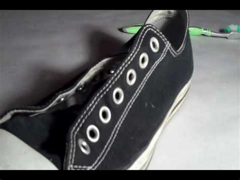 how to bar lace converse low tops real vs fake chuck taylors dawderek doovi