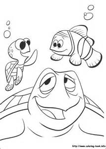 finding nemo coloring pages finding nemo coloring picture