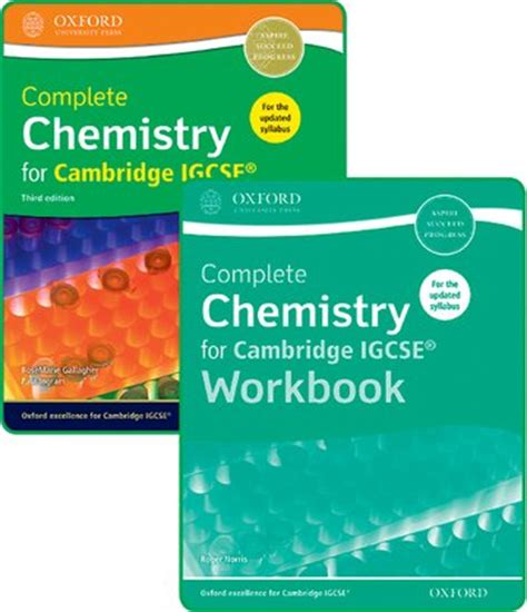 libro complete chemistry for cambridge complete chemistry for cambridge igcse 174 student book and workbook pack oxford university press