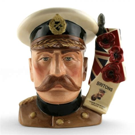 Who Is Lord Kitchener by Lord Kitchener D7148 Large Royal Doulton Character Jug
