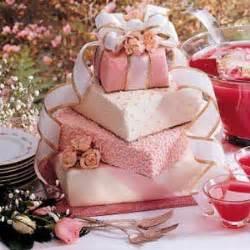 gift box wedding cake recipe taste of home