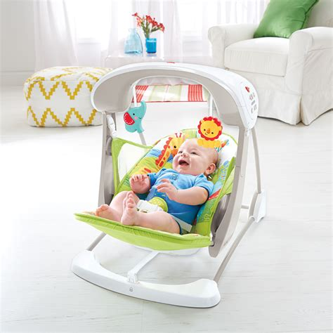 fisher price take along swing fisher price rainforest take along swing and seat