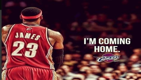 lebron the prodigal returns home to cleveland