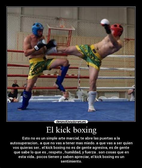imagenes emotivas de kick boxing el kick boxing desmotivaciones