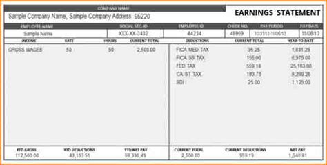 9 Truck Driver Pay Stub Template Secure Paystub Truck Driver Pay Stub Template