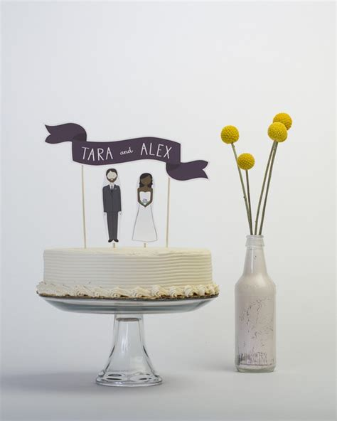 Handmade Cake Topper - etsy wedding readygo handmade wedding cake toppers