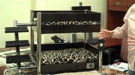 lazybonezz metropolitan pet bunk bed youtube