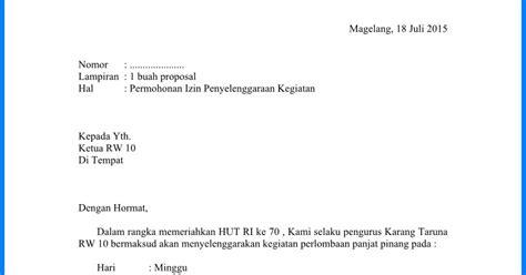 2 contoh surat permohonan izin yang benar wiki edukasi