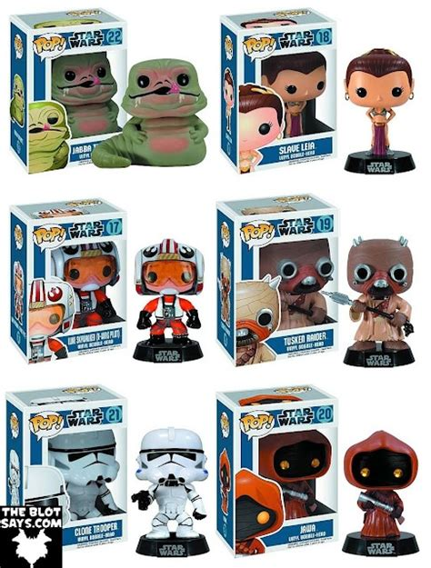 Dijamin Toys Funko Pop Wars Bobble Luke Pilot wars pop series 3 includes jabba the hut leia x wing pilot luke skywalker a jawa