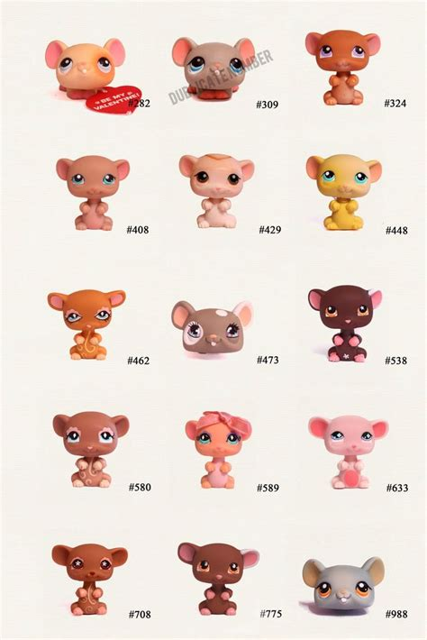 Pet Shop Singles A Mouse s lps littlest pet shop pets mouse pet