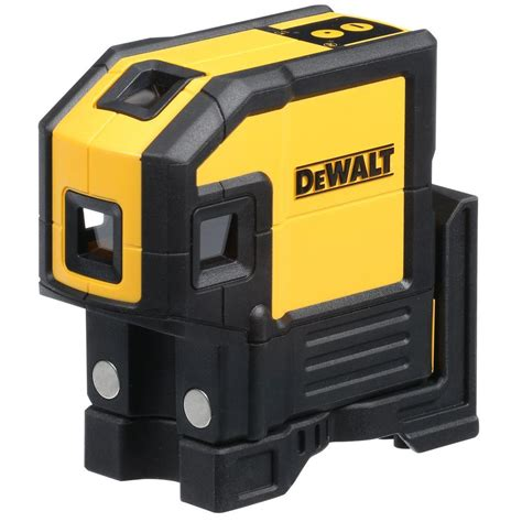 dewalt self leveling spot beams and horizontal line laser