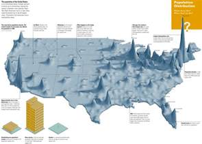 us map based on population random notes geographer at large december 2011
